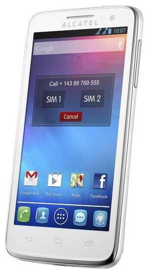 Замена сенсора, стекла, тачскрина Alcatel One Touch X POP 5035X